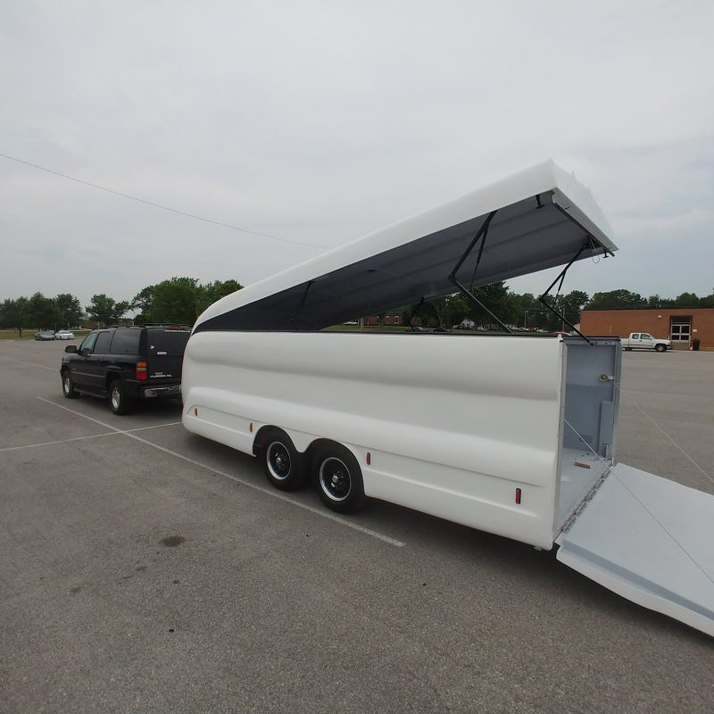 THE NEW LONGBODY MOTORCYCLE TRAILER