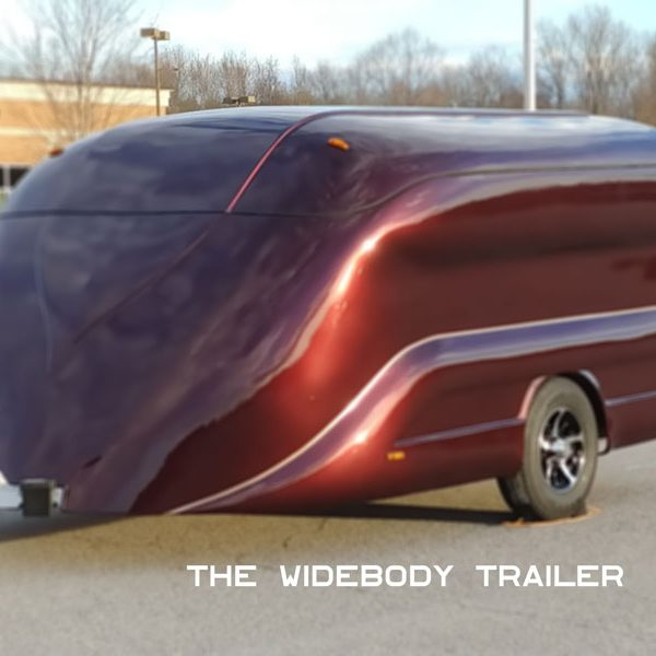 widebody trailer, motorcycle trailer, trike trailer, bagger trailer
